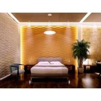 China Plant Fiber Decorative Mural 3D Wallpaper 3D Wood Wall Panels for Home Deco on sale