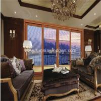 China Aluminum Sliding Door with Built-in Blind on sale