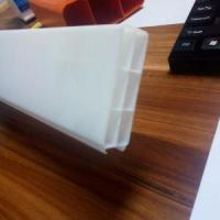 Tianqi Cheap Price High Strength Colorful Double Layers Square ABS Pipe ABS Extrusion Plastic Profil Manufactures