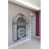 Wall Decals Juke Box Monochrome-Wall Decals Manufactures