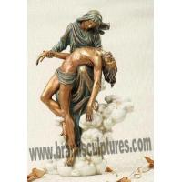 China Huge Fiberglass Religious Statue for Home Garden Decoration on sale