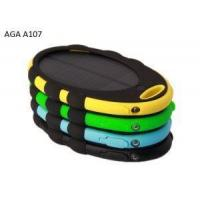 4000mAh Small & Portable Solar Charger With Dual USB Manufactures