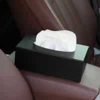 and Auto Car Use Carbon Fiber Tissue Box Manufactures