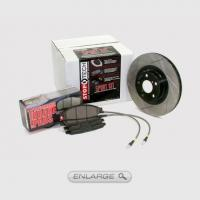 Mitsubishi Stoptech Slotted Sport Kit Brake Upgrade Mitsubishi Evolution 8/9