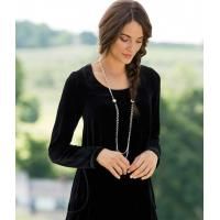 China 301700 Go With The Flow Velvet Tunic wholesale