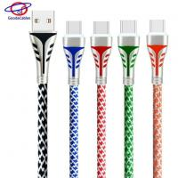 China Nice Pagoda Appearance Zinc Alloy Type C USB Charger Cable with Good Quality wholesale