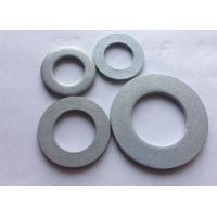 China Metric Carbon Steel Flat Washers , Industrial Round Plate Washer DIN 125 wholesale