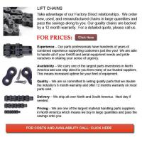 Chain for Forklifts