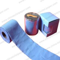 Blue toilet tissue bring your colorful day Manufactures