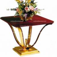 China Contract Furniture Supplier Commercial Lobby Desk Flower Desk For Hotel Furniture Liquidator on sale
