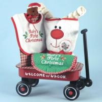China Baby Welcome Wagons Baby's First Christmas Welcome Wagon Baby Gift on sale