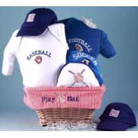 China Baby Gift Baskets All Sports Baby Gift Basket on sale