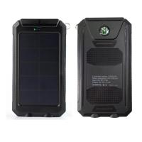10000mah high conversion efficiency solar trickle charger Manufactures