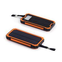 8000mah portable solar powered battery charger Manufactures