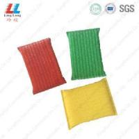 China Golden and silver sponge kitchen cloth wholesale