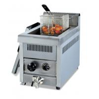 China Table top electric deep fryer with oil valve on sale