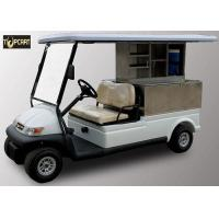 Trojan Battery 2 Seater Utility Golf Cart , Club Car Electric Golf Cart Eco Friendly Manufactures