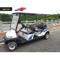 Battery Powered Custom Electric Golf Carts , Electric Patrol Car 8 Hours Charging Manufactures