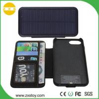 New Product Power Bank Solar Wallet Charger for iPhone 6 Plus & 7 Plus Mobile Phone Manufactures