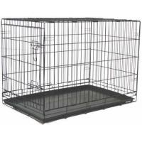 China Brand New Folding Dog Cat Kennel Crate Cage 48 by BestPet wholesale