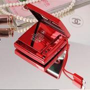 Chanel Make-up Case Outlooking Power Bank Fashion style Mobile Phone Charger
