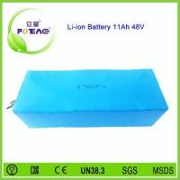 Powerful 11Ah 48v lithium ion rechargeable 18650 battery