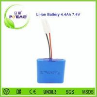Top craft wholesale lithium ion battery 18650 7.4v 4400mah Manufactures