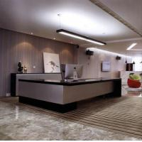 China Solid Surface hotel reception desk furniture BHR-002 on sale