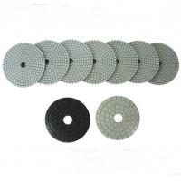 China Cup Wheels Beige Dry Wet Polishing Pads on sale