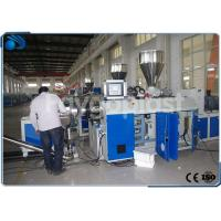 China PLC Control Plastic Granules Machine For Making Soft And Rigid PVC / CPVC Pellets on sale