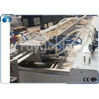 China PVC Plastic Profile Production Line With Co Rotating Parallel Twin Screw Extruder on sale