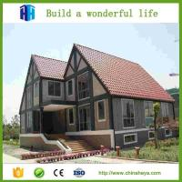 China HEYA superior quality luxury prefab light steel kerala villa and prefabricated house modern supply on sale