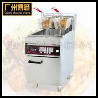 China DF-26freestanding Electric 2tank &2 basket Deep Fryer with Timer on sale