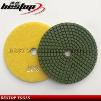China 4 Inch Cheap Wet Polishing Pad for Engineered Stone on sale