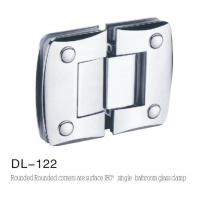 Bathroom Hinge DL122, rounded camber singleside 180 angle
