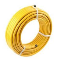 China LPG Gas Series Gas System Yellow Stainless Steel Flexible Gas Hose wholesale