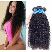 China Hair Bundles 8inch - 30inch large stock natural color kinky curl hair bundles wholesale