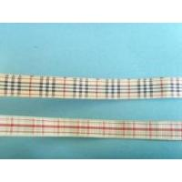 25mm classic scottish style plaid ribbons
