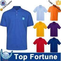 China OEM golf polo shirt for men professional manufacturer wholesale