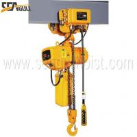 China SGW Electric Trolley Type Hoist with Dual Speed wholesale