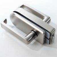 China Stainless Steel Glass Entry Door Locks on sale