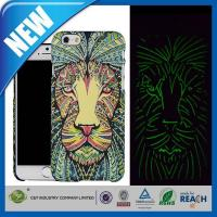 C&T Lion Aztec Animal Faces Luminous Effect Fluorescent Glow in the Dark Back Cover for iPhone6