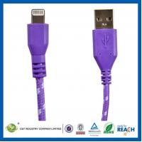 China Mobile phone cables EAA00004 Braided Rope USB Data Charger Charging Cable for iPhone 5 wholesale
