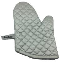 Onerbuy Oven Mitts - Quilted Cotton Lining Potholder Gloves - Heat Resistant Oven Mitts for Baking,C