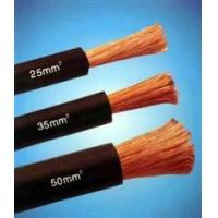 China Copper Wire Rubber Insulated black natureal rubber flexible welding cable wholesale