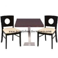 Jacob Wenge Square Restaurant Furniture Set - Configure