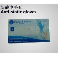 China ink-jet print machine Anti-static gloves wholesale