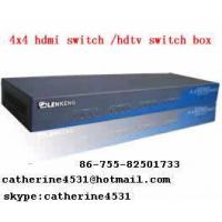 LKV334 4x4 HDMI Switch Box / HDTV Switch Box Manufactures